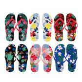 96 Units of Women's Floral Flip Flops - Women's Flip Flops