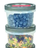 6 Units of TwisTite 6 Piece Set - Food Storage Bags & Containers