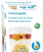 4 Units of Acrylic 2 Gallon Chill And Infuse Beverage Dispenser - Serving Trays