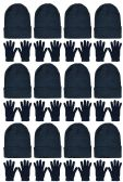 Yacht & Smith Mens Womens Warm Winter Hats in Assorted Colors, Mens Womens Unisex (Unisex Hat Glove Set) - Bundle Care sets