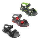 36 Units of Boys Multi Color Sandal - Boys Flip Flops & Sandals