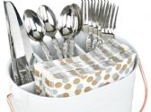 6 Units of Flatware Caddy - Kitchen Cutlery