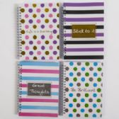 72 Units of Wirebound 5x7 Notebook - Note Books & Writing Pads