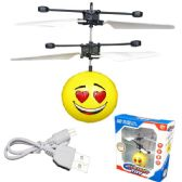 12 Units of Flying Heart Smiley Toy - Toy Sets
