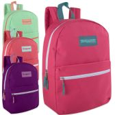 24 Units of Trailmaker Classic 17 Inch Girls Backpack - Backpacks 17""