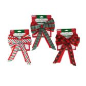 96 Units of Fabric Basket Bow - Bows & Ribbons