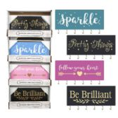 16 Units of Home Decor Jewelry Wall Plaque - Home Decor