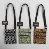 24 Units of 3 Assorted Design Polyester Shoulder Bags - Shoulder Bags & Messenger Bags
