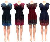 24 Units of V Necklace Short Dress - Womens Sundresses & Fashion