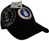 12 Units of Official Licensed US Air Force with shadow Hats - Baseball Caps & Snap Backs