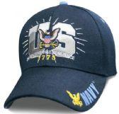 12 Units of Official Licensed US Navy Basic Training Hats - Baseball Caps & Snap Backs