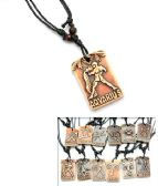 96 Units of Zodiac Pendant Necklace - Necklace