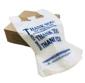 Thank You Bags-1000ct [White] 1/6 - Bags Of All Types