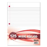48 Units of BAZIC W/R 125 Ct. Filler Paper - Paper