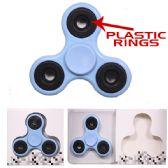 96 Units of Spinner 220 Plastic Rings Blue - Fidget Spinners