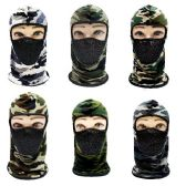 36 Units of Ninja Face Mask Camo with Mesh - Costumes & Accessories