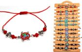 96 Units of Beaded Turtle Bracelet - Bracelets