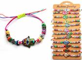 96 Units of Bracelet with Evil Eye Hand design - Bracelets