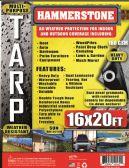 4 Units of 160 GSM Heavy Duty TARPS - Tarps
