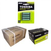 288 Units of AAA TOSHIBA Heavy Duty Batteries - Batteries