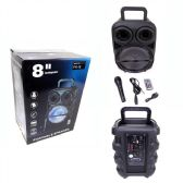 6 Units of 8 Inches Portable Speaker - Speakers and Microphones