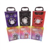 36 Units of High Power Box Speaker 500 MAH - Speakers and Microphones