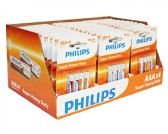 84 Units of Super Heavy Duty AAA Philips Battery in PDQ Display Box - Batteries