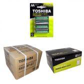144 Units of AA TOSHIBA Heavy Duty Batteries - Batteries