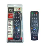 48 Units of 12 in 1 Universal Remote - Television Antennas & Remote Controls