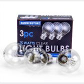 60 Units of 3 Pieces Clear Bulb 75 watts - Lightbulbs