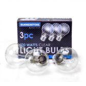 60 Units of 3 Pieces Clear Bulb 100 watts - Lightbulbs