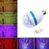50 Units of LED Rotating Light with Plug Socket - Lightbulbs