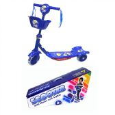 6 Units of Toy Bike Scooter Blue - Summer Toys
