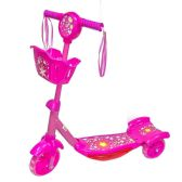 6 Units of Toy Bike Scooter Pink - Summer Toys