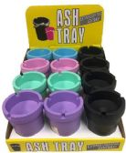 36 Units of Butt Bucket - Assorted Colors - Ashtrays