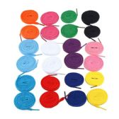 72 Units of 54 Inch Assorted Colors  Sneakers And Casual Shoes Shoe Lace - Footwear Accessories
