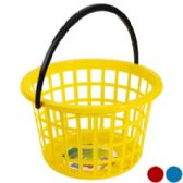 24 Units of Round Basket With Handle - Baskets