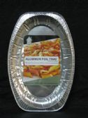 72 Units of Aluminum Oval Plate Container - Aluminum Pans