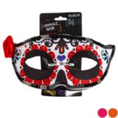 72 Units of Day Of The Dead Carnivale Mask - Costumes & Accessories
