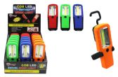 18 Units of COB LED SWIVEL WORKLIGHT WITH CLIP ULTRA BRIGHT - Lamps and Lanterns