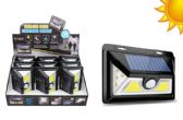 9 Units of DELUXE COB LED SOLAR MOTION LIGHT 500 LUMENS - Lamps and Lanterns