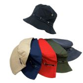 24 Units of Bucket Hat [Solid] - Bucket Hats