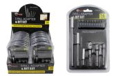 18 Units of DRILL ADAPTER AND BIT SET - Drills and Bits