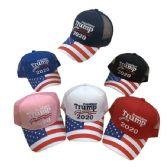 24 Units of President Trump 2020 Hat[Flag on Bill] Mesh Back - Baseball Caps & Snap Backs