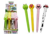 48 Units of Animal Led Pen With Sounds - Pens & Pencils
