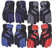 96 Units of Men's Waterproof Ski Glove - Ski Gloves