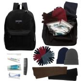 12 Units of 12 Care Packages - 12 Backpacks, 12 Kits, 12 Winter Item Sets - Backpack Care Sets