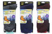 48 Units of Men's Thermal Boot Socks 10-13 - Mens Thermal Sock