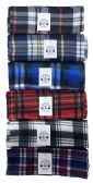 36 Units of Yacht & Smith Plaid Color Warm Winter Fleece Scarves - Winter Scarves