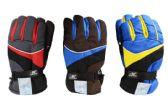 24 Units of Mens Ski Gloves Large - Ski Gloves
